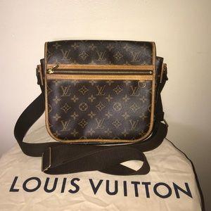 Auth Louis Vuitton bosphore mm crossbody messenger